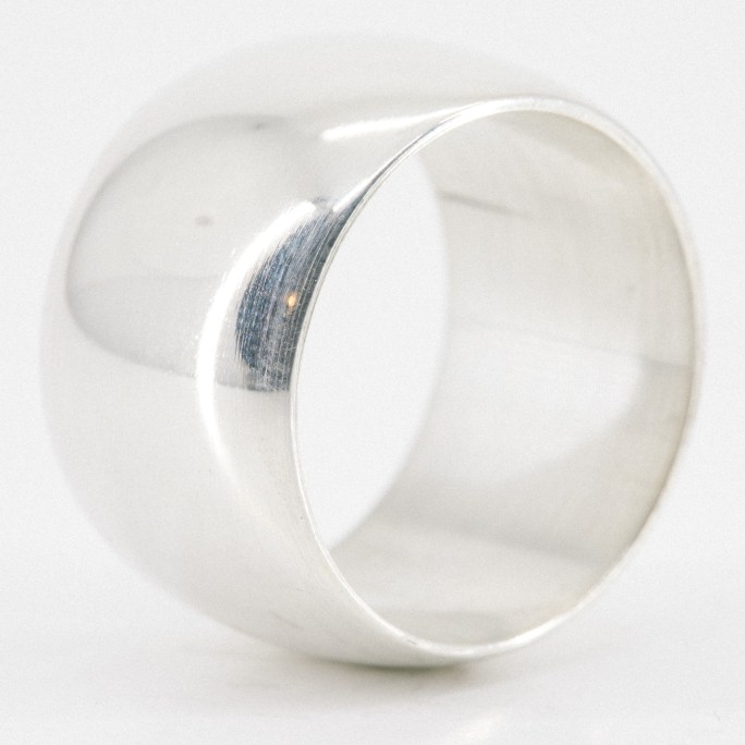 "5/8"" Pipe Ring in Sterling Silver"