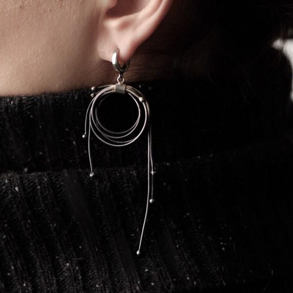 Multi Fringe Earrings