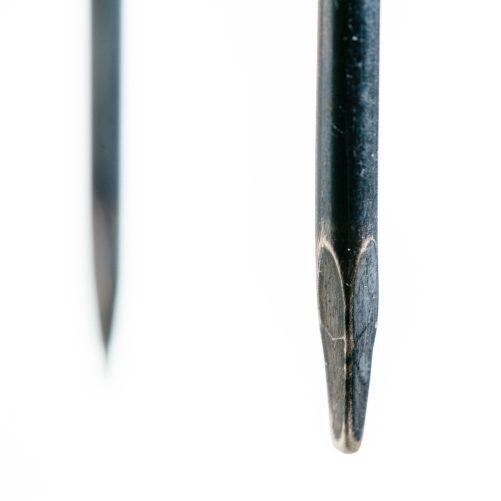 Nail earrings for men