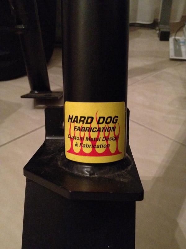 Harddog Fabrication Zertifikat