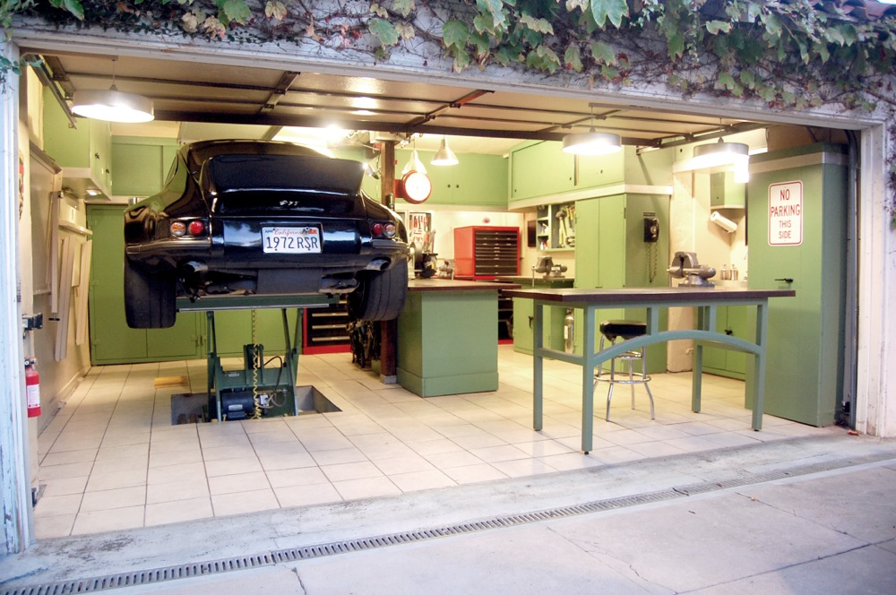 Holzst nder for One car garage with carport