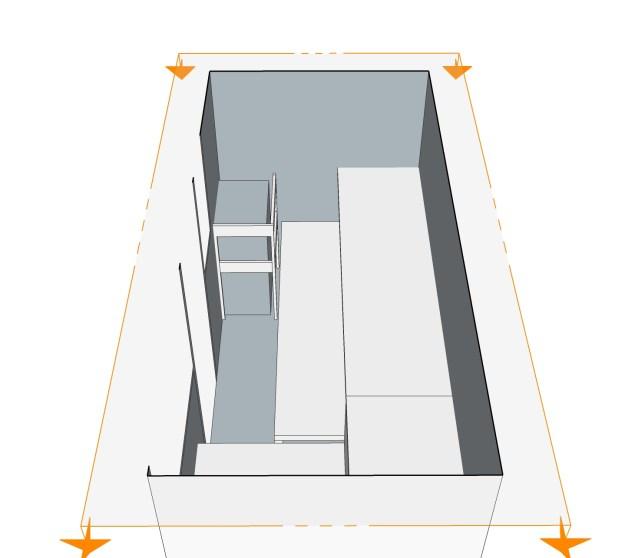 Sauna von oben