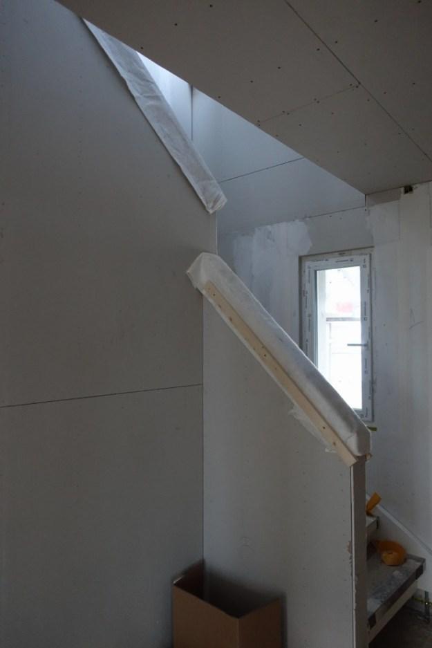Handläufe Treppe montiert