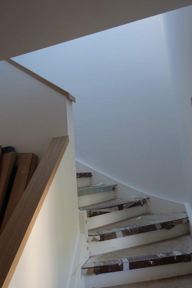 Treppengeländer frei