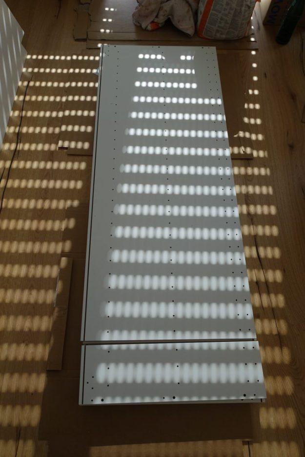 Zerteilter Ikea Hochschrank