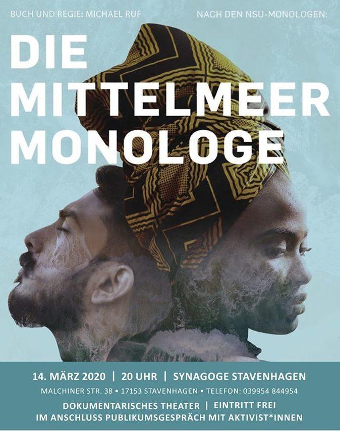 Sa 14.03. Mittelmeer-Monologe