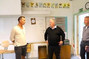 Dan Olofsson besöker Kaxås Byskola