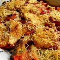 Włoska zapiekanka z batatami
