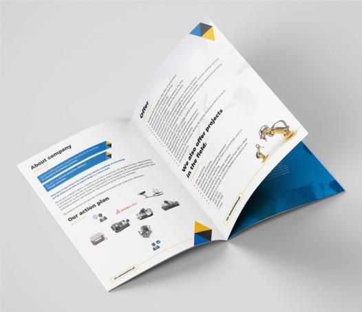 Katalog reklamowy A4