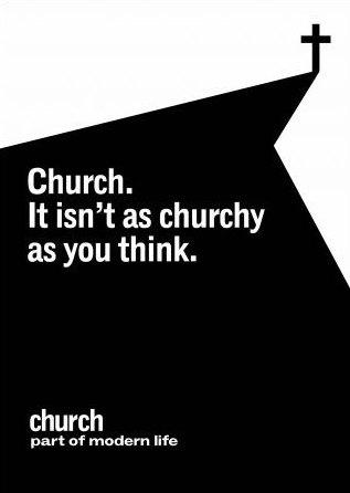 Mesaj publicitar - Biserica Anglicană