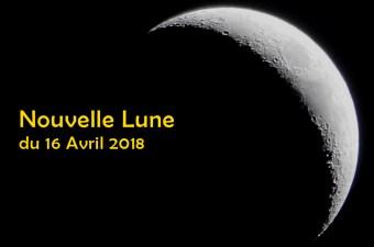 Nouvelle lune le 16 avril