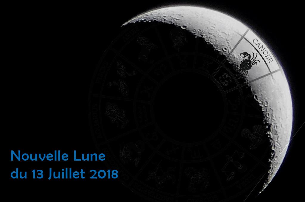 Nouvelle lune 13 juillet 18