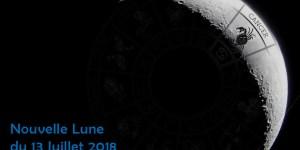 Nouvelle lune 13 Juillet 2018 : Je, Nous, AIME !