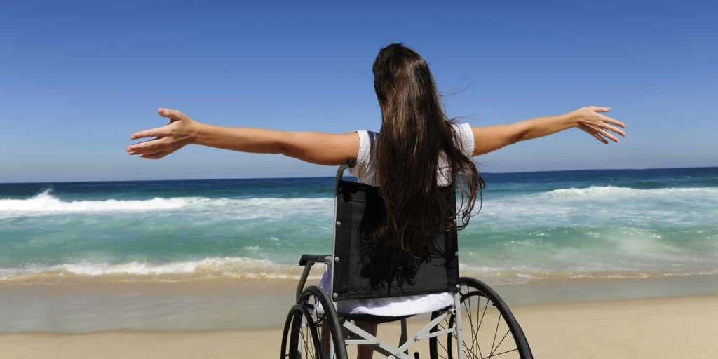 la plage quand on est handicapee