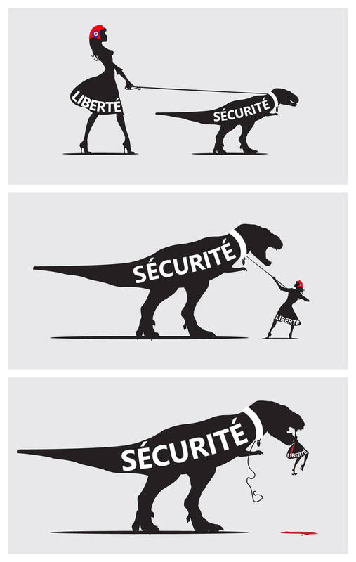 Illustration securite la balance