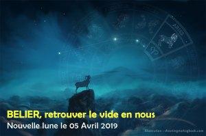 Nouvelle lune du 5 avril en Bélier, accéder au vide en soi