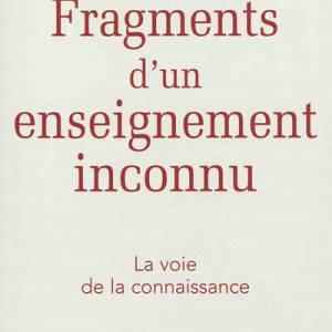 Fragments d'un enseignement inconnu