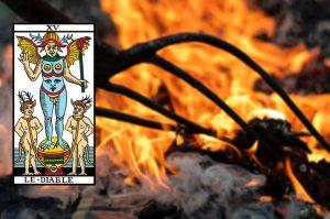 Arcane 15, Le Diable, Illusion au coeur du conditionnement