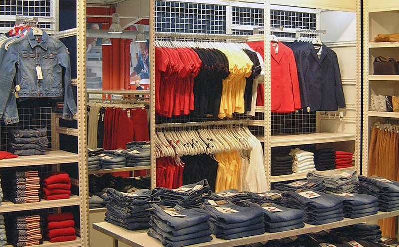 Rayonnage Magasin Vtements Tagre Boutique Mode