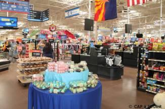 Supermarché où l'on trouve de tout partout