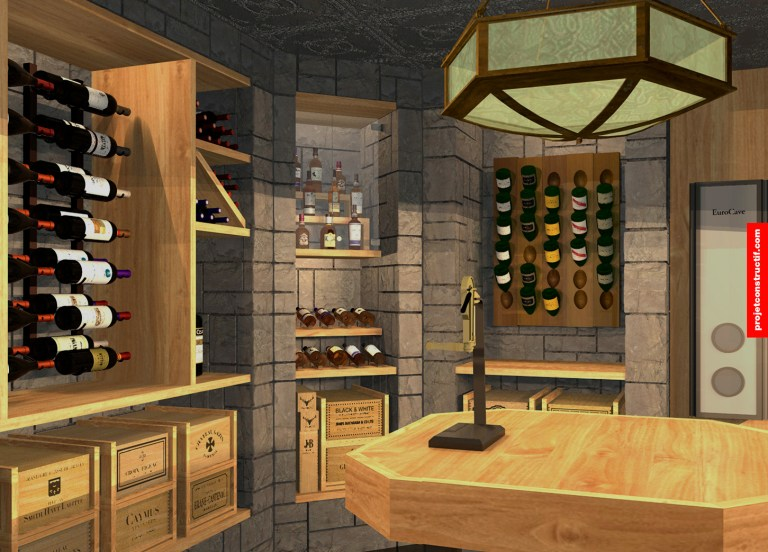 Cave à vins Wine_cellar_interior_desgn_champagne