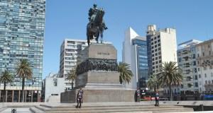 Plaza de Armas em Montevidéu