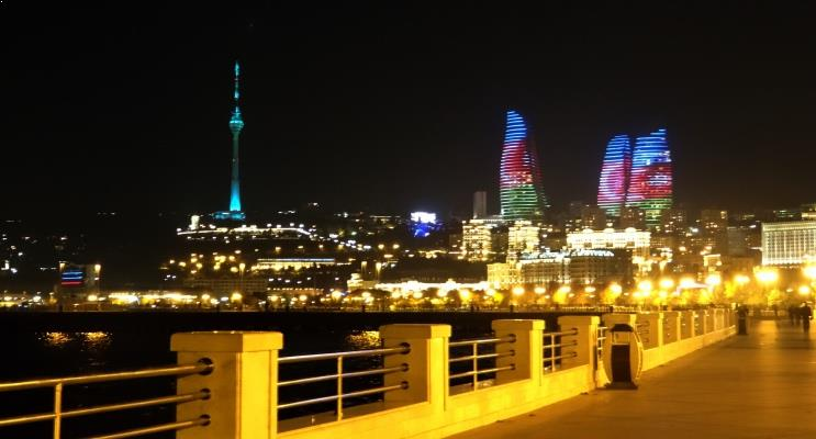 Turismo em Baku - capital do Azerbaijão