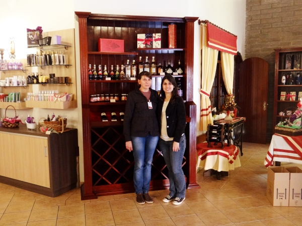 Visita guiada na vinícola da serra