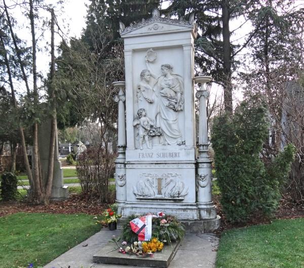 túmulo de Franz Schubert