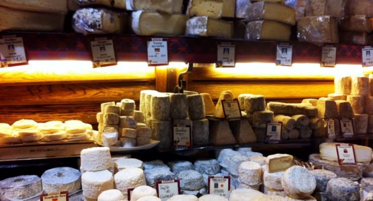 Androuet Maître Fromager: boutique de queijos em Paris