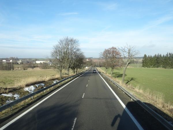 Estrada na Republica Tcheca