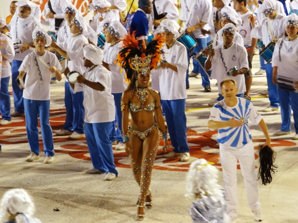 Desfile no Carnaval de Joaçaba