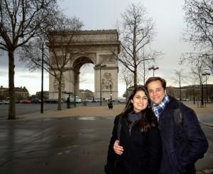 Gabi e Fabrício em Paris