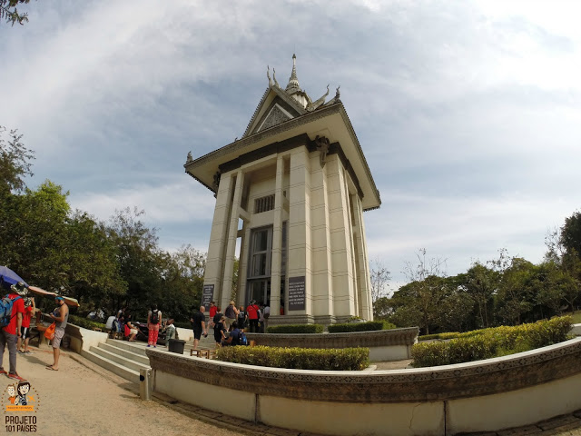 7. Monumento dentro do Killing Fields