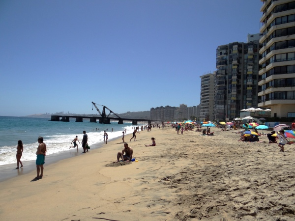 A charmosa Playa Resaca