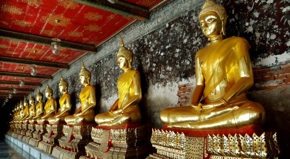 3 dias em Bangkok