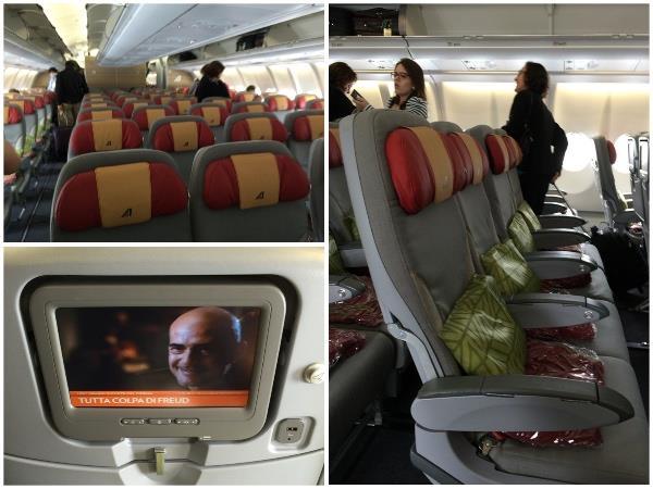 Aviao Alitalia Galeao Roma