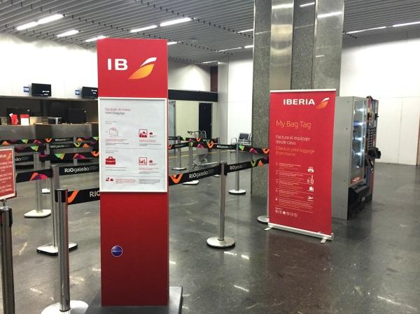 Check in Iberia
