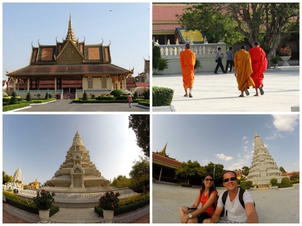 Dentro Palacio Real de Phnom Penh