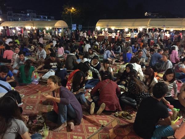 Noite em Pnhom Penh