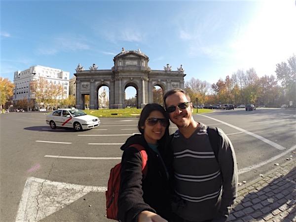 Puerta de Alcala em Madri