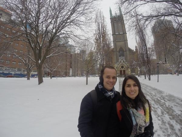 Neve em Toronto
