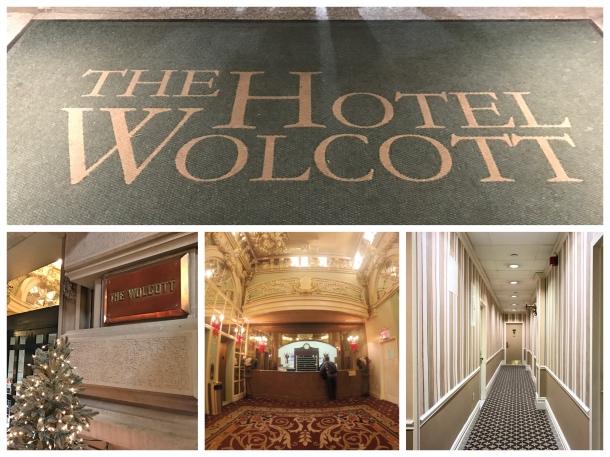 Entrada Hotel Wolcott em Manhattan
