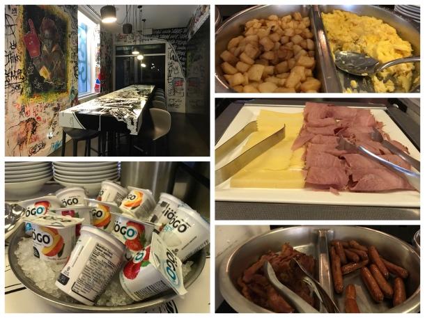 Café da manhã do W Montreal