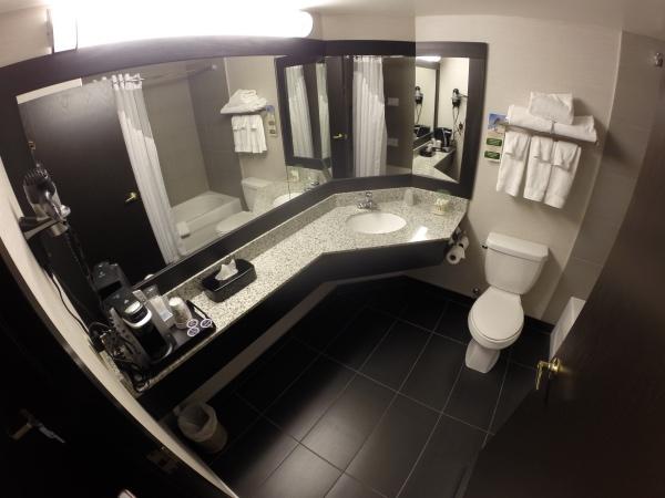 Banheiro do holiday inn montreal