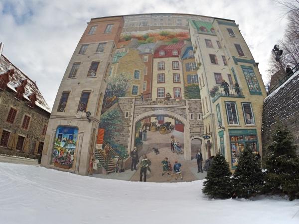 Frescos de Quebec