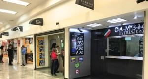 Câmbio na Cidade do México