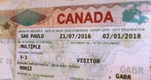Isenção de visto para o Canadá