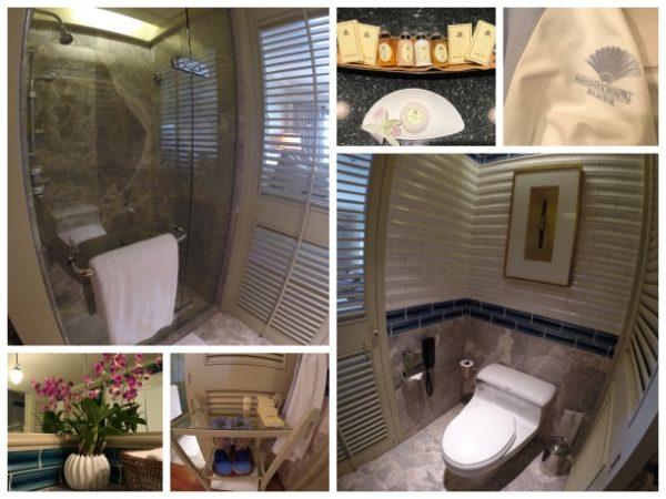 Banheiro do Mandarin Oriental Bangkok