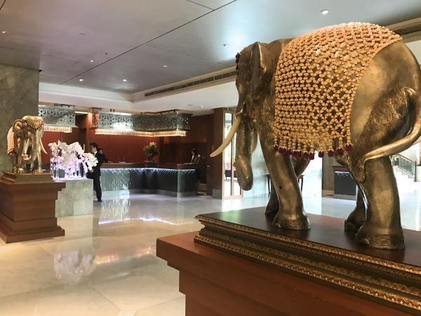 Recepção do Mandarin Oriental Bangkok